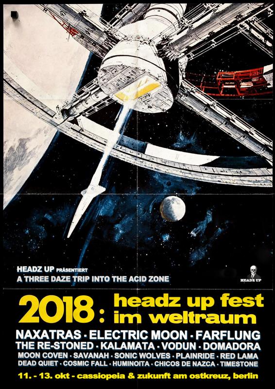 Headz Up Fest 2018 Poster